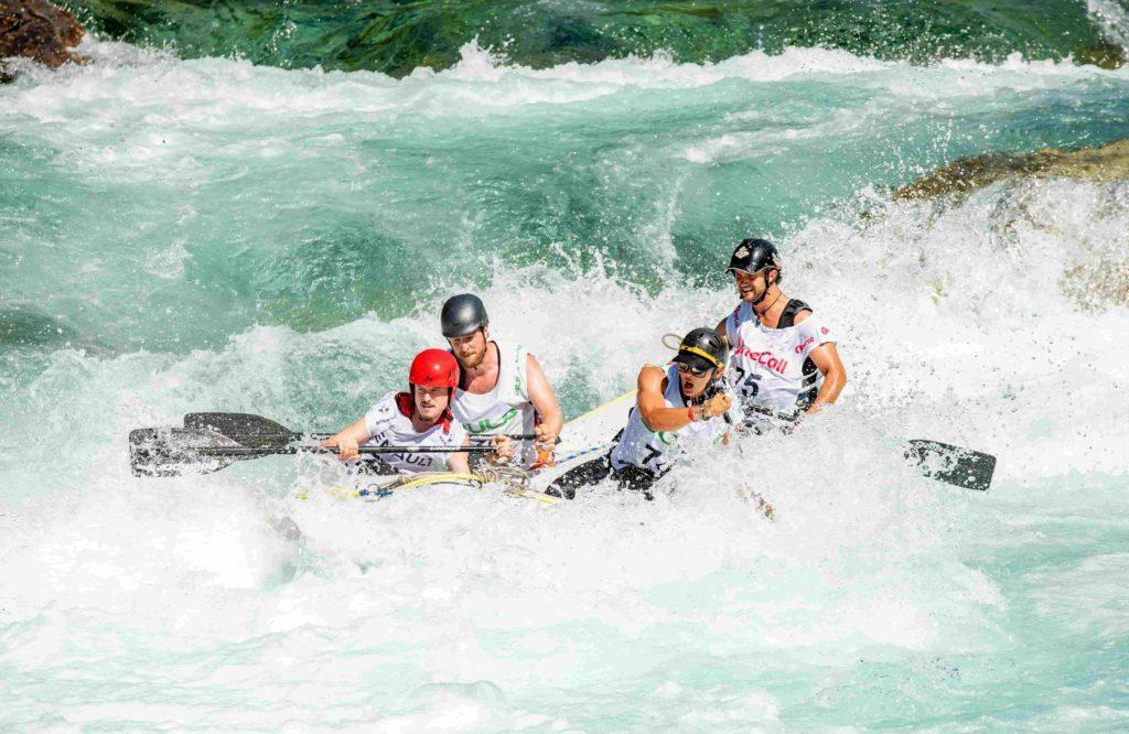 Wildwasser Rafting
